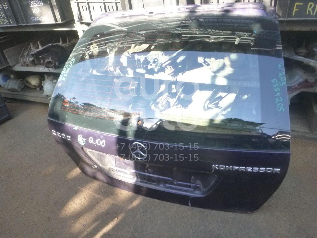 Дверь багажника со стеклом для Mercedes Benz W203 2000-2006 - Фото №1