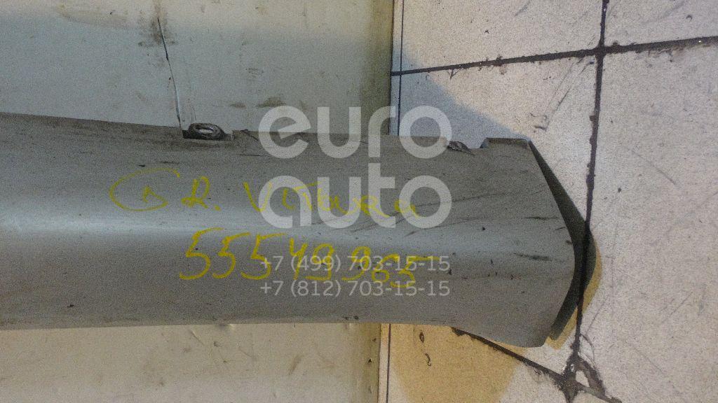 Накладка на порог (наружная) для Suzuki Grand Vitara 1998-2005 - Фото №1