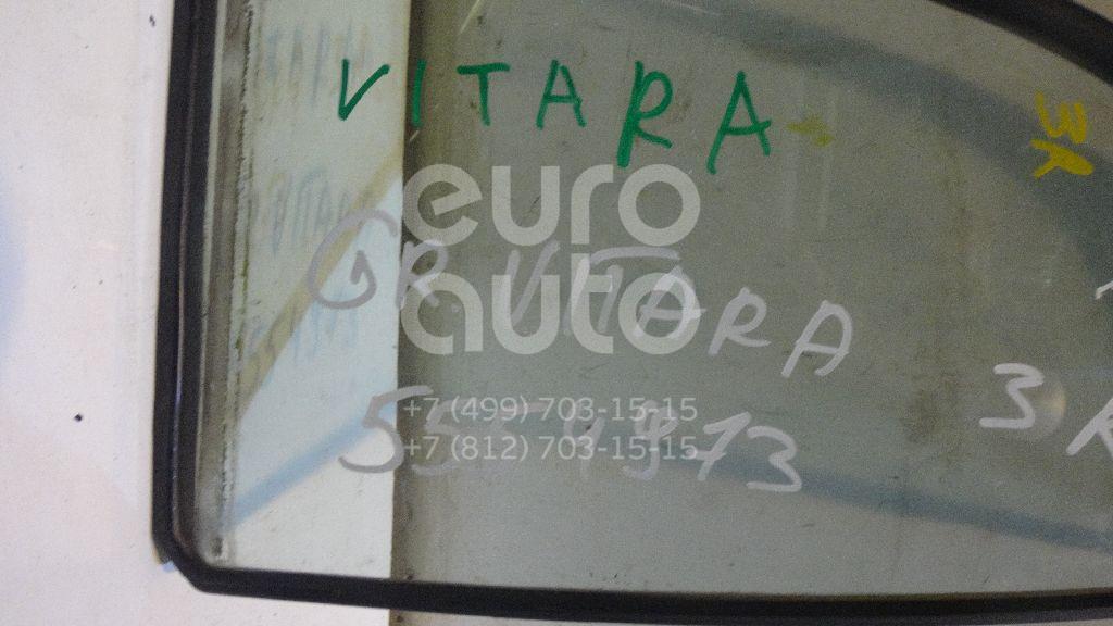 Стекло двери задней правой (форточка) для Suzuki Grand Vitara 1998-2005 - Фото №1
