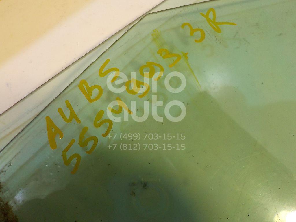Стекло двери задней правой для Audi A4 [B5] 1994-2000 - Фото №1