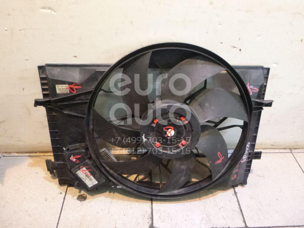 Вентилятор радиатора для Mercedes Benz W203 2000-2006;C209 CLK coupe 2002-2009 - Фото №1