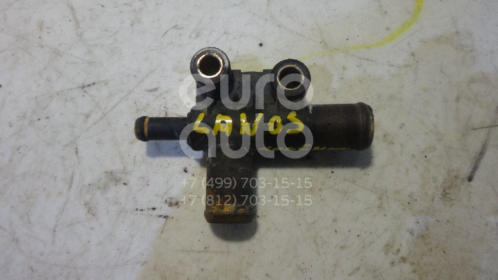 Тройник системы охлаждения для Daewoo,Chevrolet Lanos 1997-2009;Aveo (T200) 2003-2008;Lanos 2004>;Aveo (T250) 2005-2011 - Фото №1