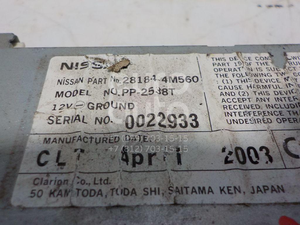 Ченджер компакт дисков для Nissan X-Trail (T30) 2001-2006;King Cab D22 1998-2012 - Фото №1