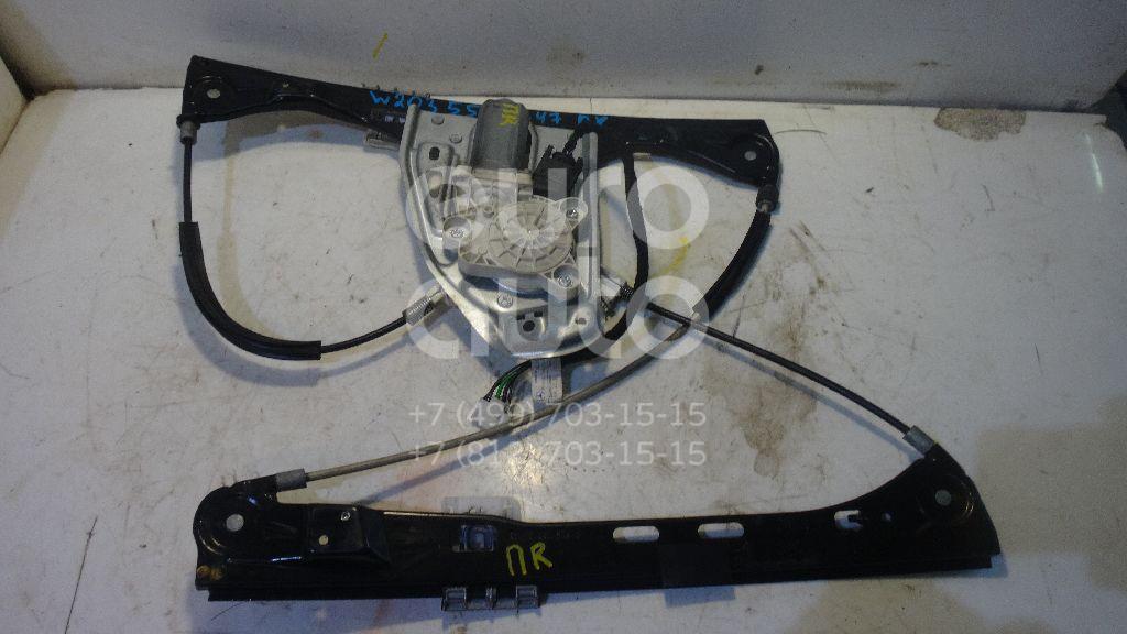Стеклоподъемник электр. передний правый для Mercedes Benz W203 2000-2006 - Фото №1