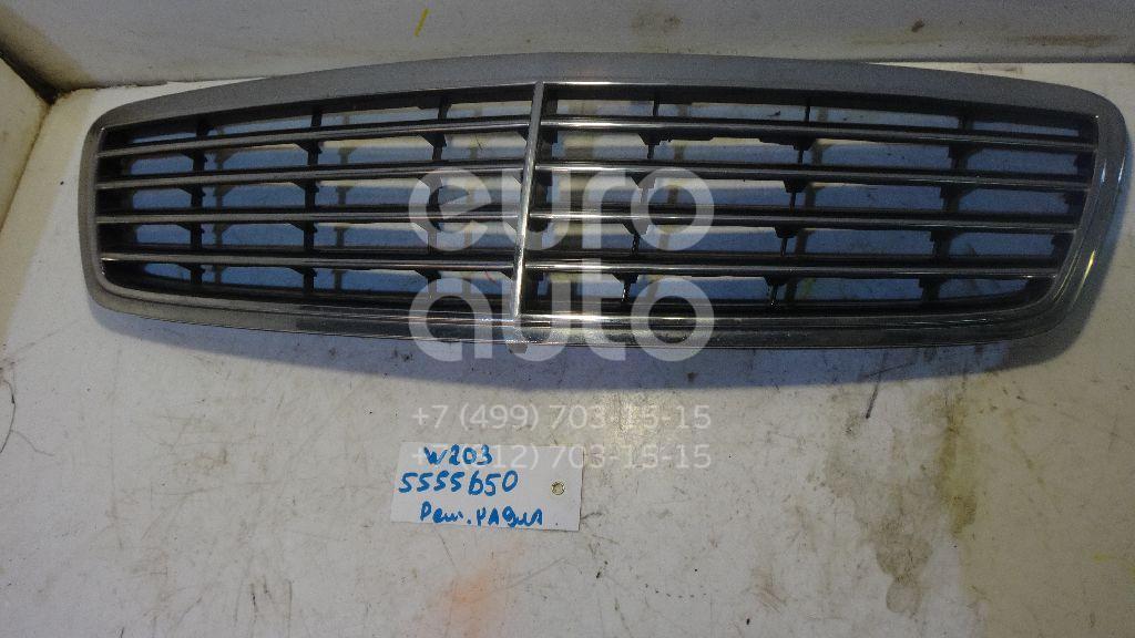 Решетка радиатора для Mercedes Benz W203 2000-2006 - Фото №1