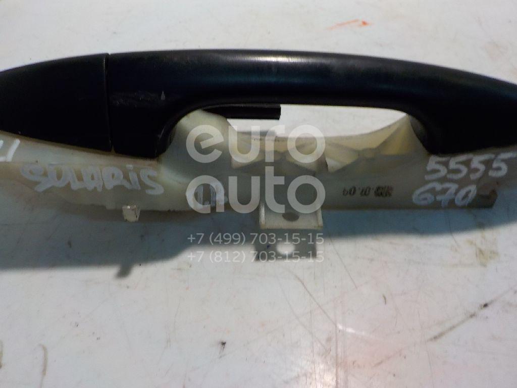 Ручка двери передней наружная правая для Hyundai Solaris/Accent IV 2010> - Фото №1