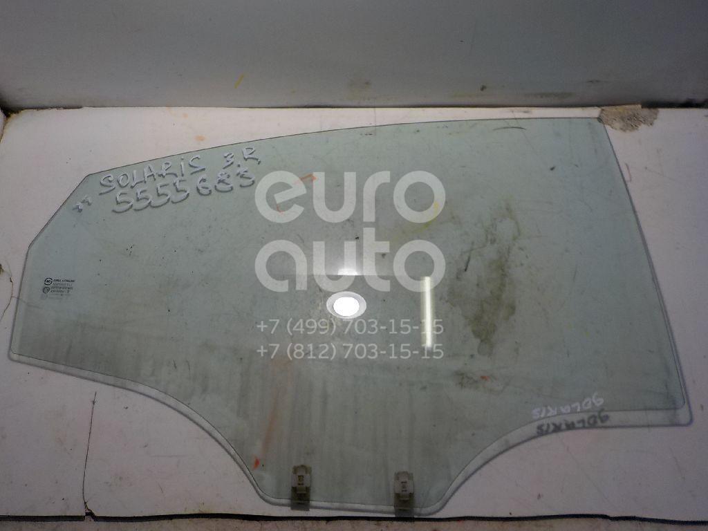 Стекло двери задней правой для Hyundai Solaris/Accent IV 2010> - Фото №1