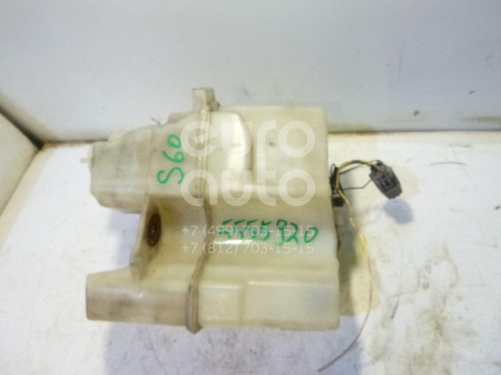 Бачок омывателя лобового стекла для Volvo S60 2000-2009;V70 2001-2006;XC70 Cross Country 2000-2006;S80 1998-2006 - Фото №1