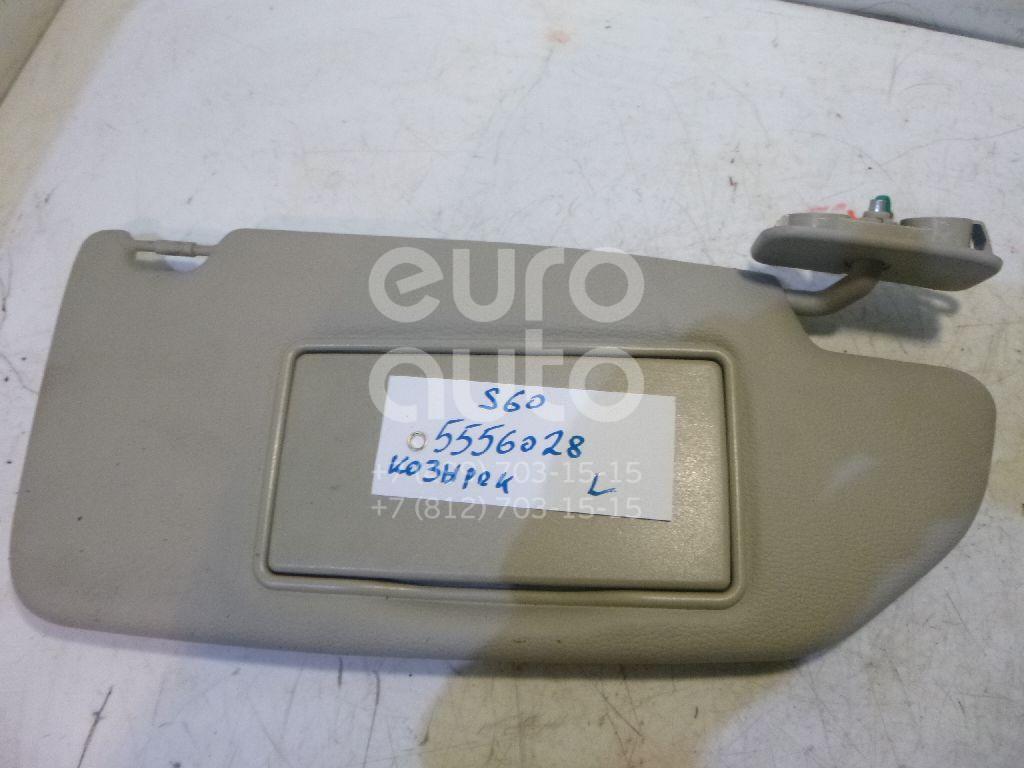 Козырек солнцезащитный (внутри) для Volvo S60 2000-2009;V70 2001-2006;XC70 Cross Country 2000-2006 - Фото №1