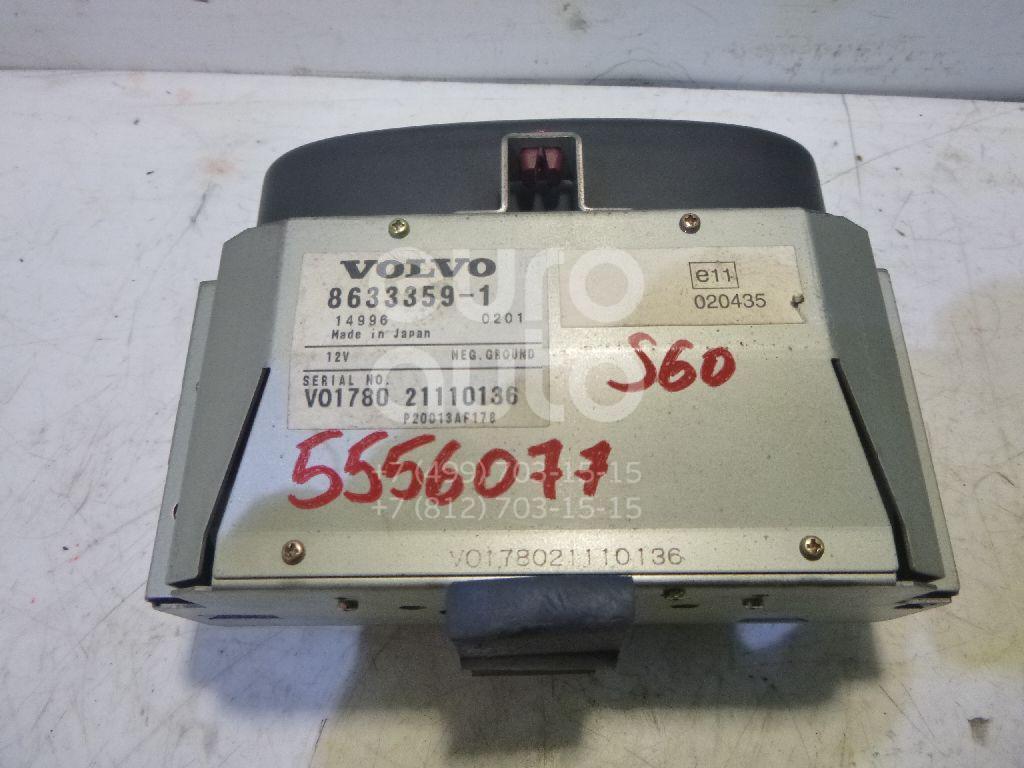 Дисплей информационный для Volvo S60 2000-2009;V70 2001-2006;XC70 Cross Country 2000-2006;S80 1998-2006 - Фото №1