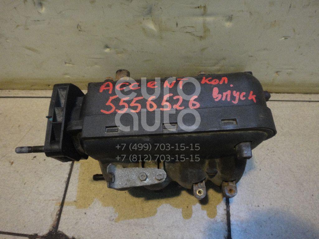 Коллектор впускной для Hyundai Accent II (+ТАГАЗ) 2000-2012 - Фото №1