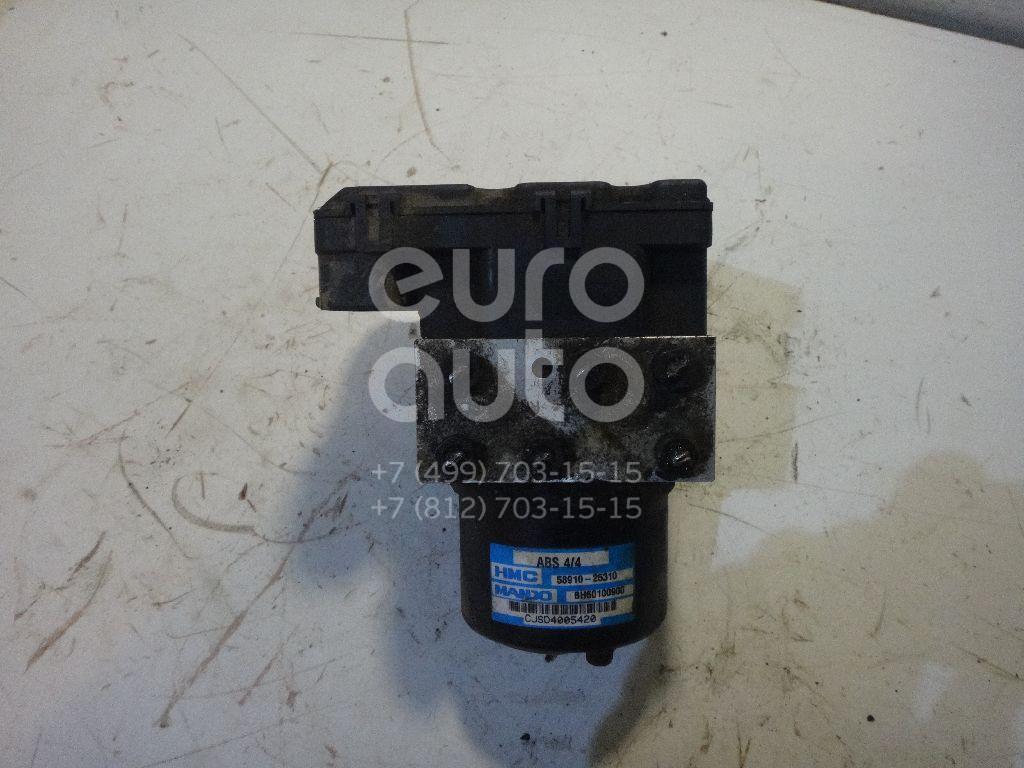 Блок ABS (насос) для Hyundai Accent II (+ТАГАЗ) 2000-2012 - Фото №1