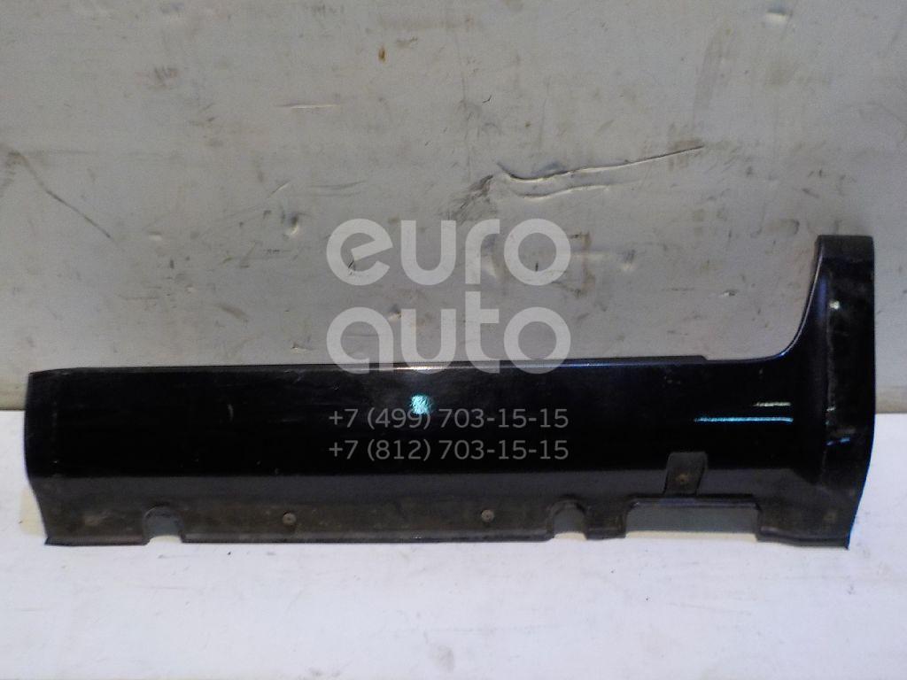 Накладка на порог (наружная) для Kia Sportage 2004-2010 - Фото №1