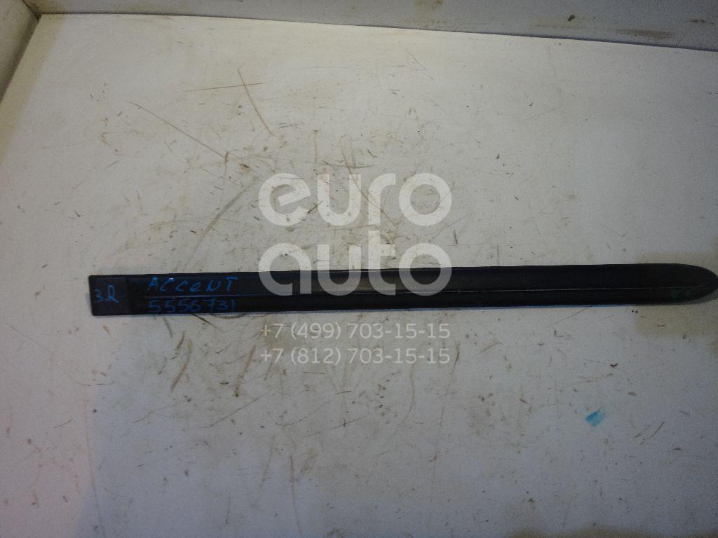 Молдинг задней правой двери для Hyundai Accent II (+ТАГАЗ) 2000-2012 - Фото №1