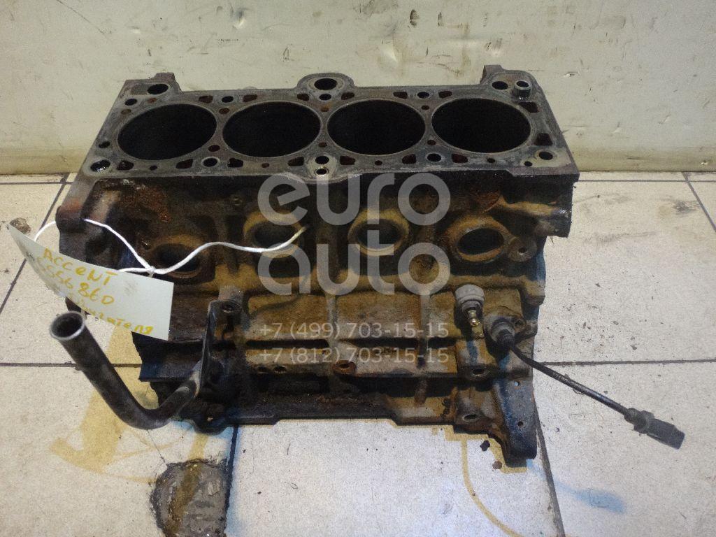 Блок двигателя для Hyundai Accent II (+ТАГАЗ) 2000-2012 - Фото №1