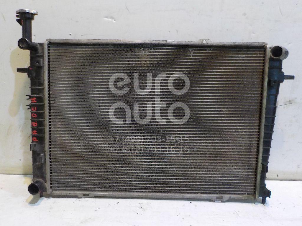 Радиатор основной для Kia,Hyundai Sportage 2004-2010;Tucson 2004-2010 - Фото №1