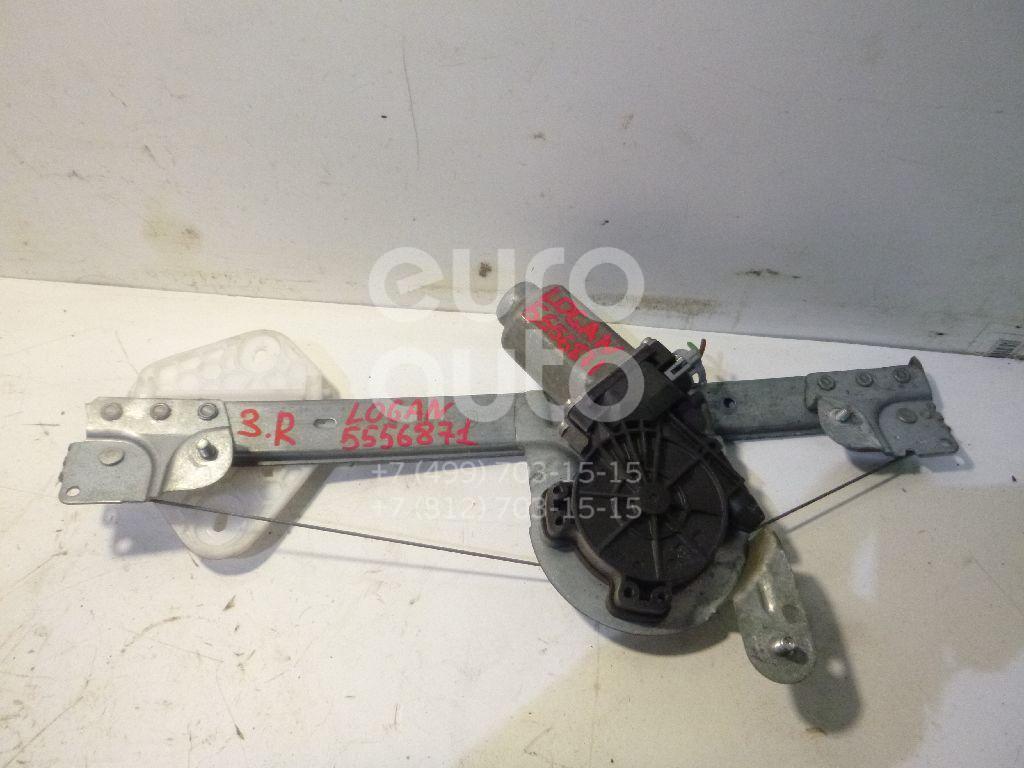 Стеклоподъемник электр. задний правый для Renault,VAZ Logan 2005-2014;Lada Largus 2011> - Фото №1