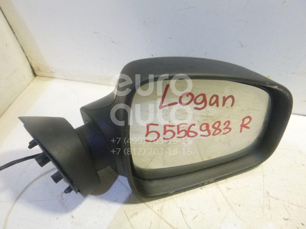 Зеркало правое электрическое для Renault Logan 2005-2014;Sandero 2009-2014;Lada Largus 2011>;Duster 2012> - Фото №1