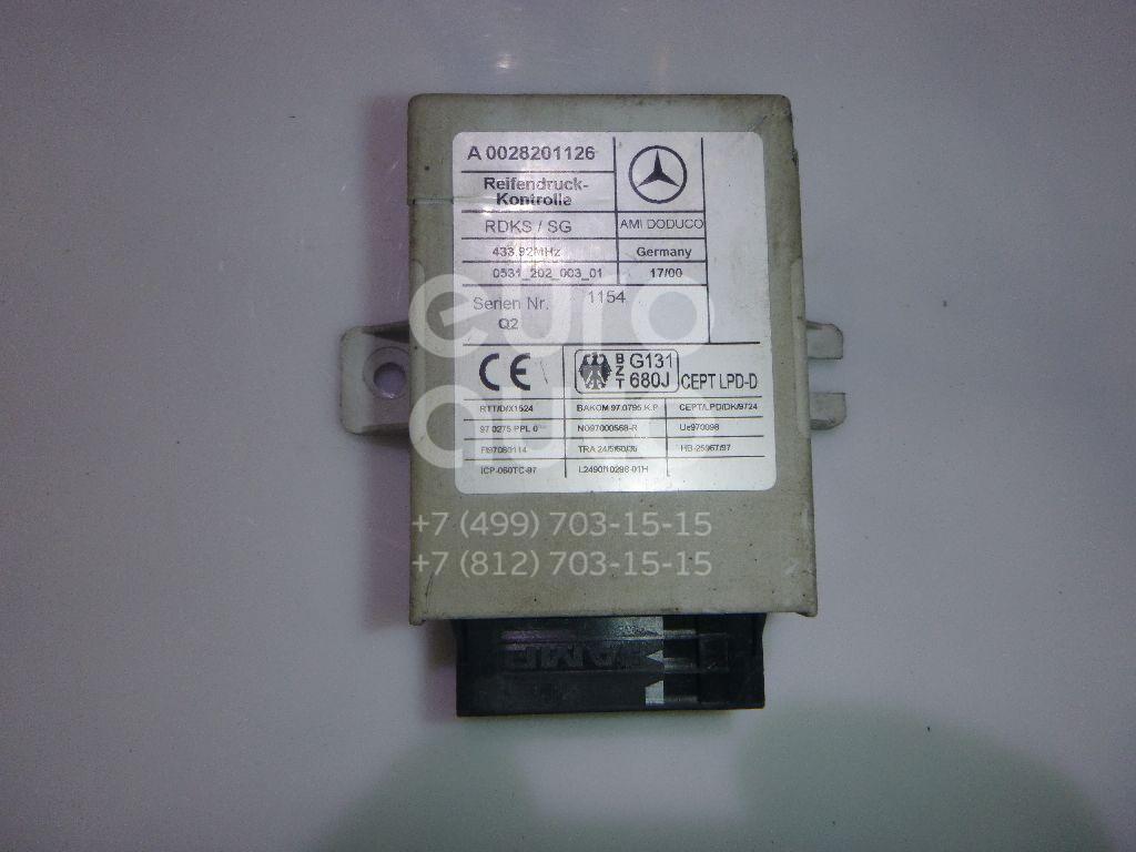 Купить Блок электронный Mercedes Benz W215 CL coupe 1999-2006; (0028201126)