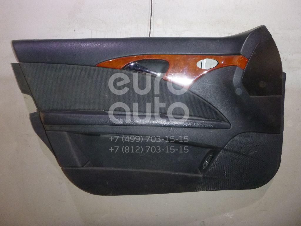 Купить Обшивка двери передней левой Mercedes Benz W211 E-Klasse 2002-2009; (21172003709E22)