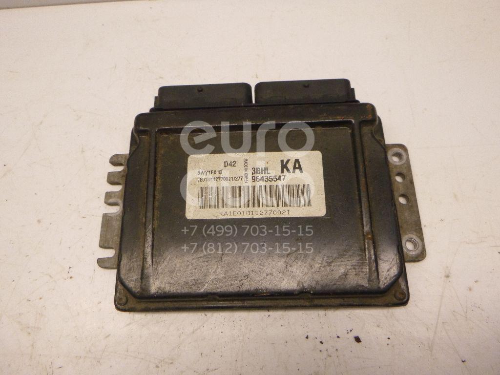 Купить Блок управления двигателем Chevrolet Lacetti 2003-2013; (96435547)