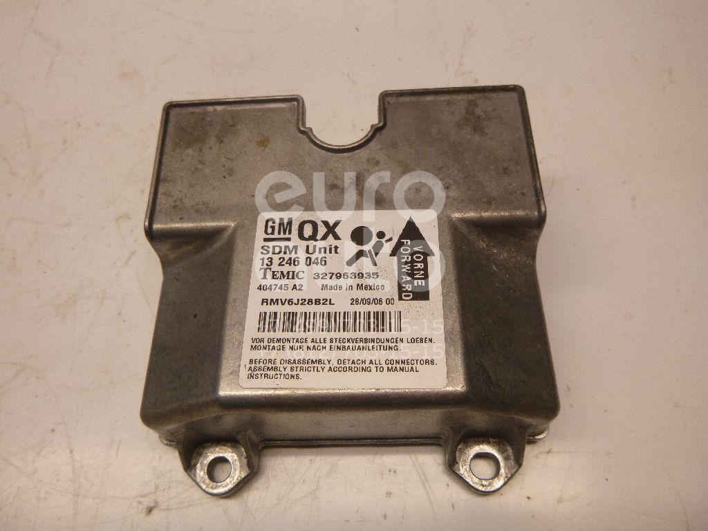 Блок управления AIR BAG Opel Zafira B 2005-2012; (93189380)  - купить со скидкой