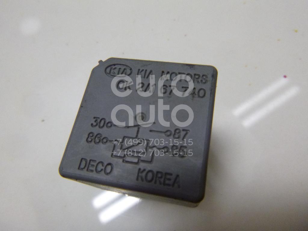 Купить Реле Kia Spectra 2001-2011; (0K2A167740)