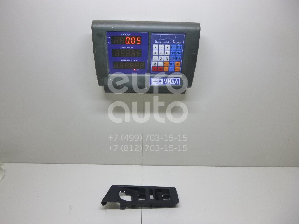 Накладка блока управления стеклоподъемниками VW Passat [B7] 2011-2015; (3AB857857A1QB)