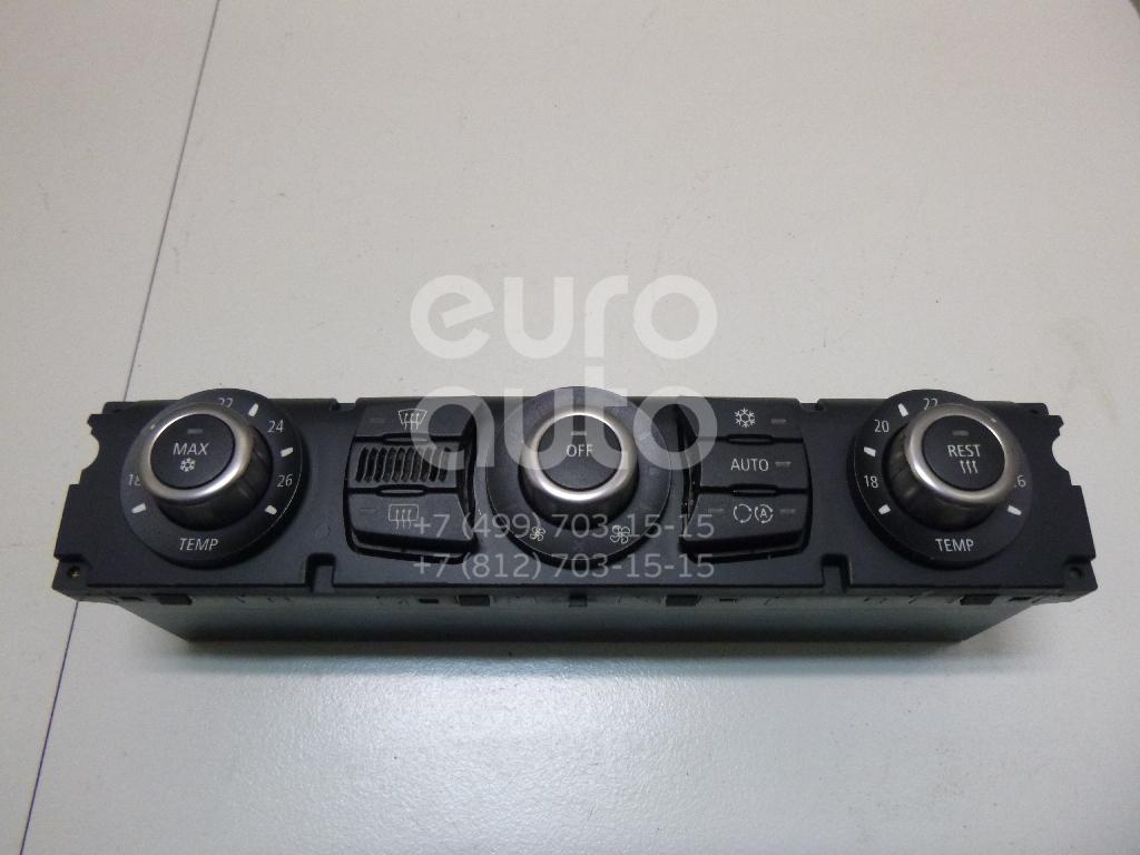 Купить Блок управления климатической установкой BMW 5-серия E60/E61 2003-2009; (64116950634)