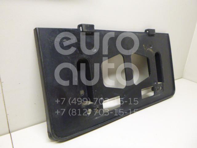 Накладка переднего бампера под номер Mazda MPV II (LW) 1999-2006; (LC6250170C)  - купить со скидкой