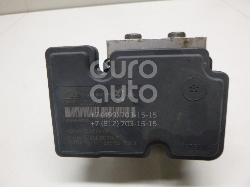 Купить Блок ABS (насос) Citroen C3 2009-2016; (4541KC)