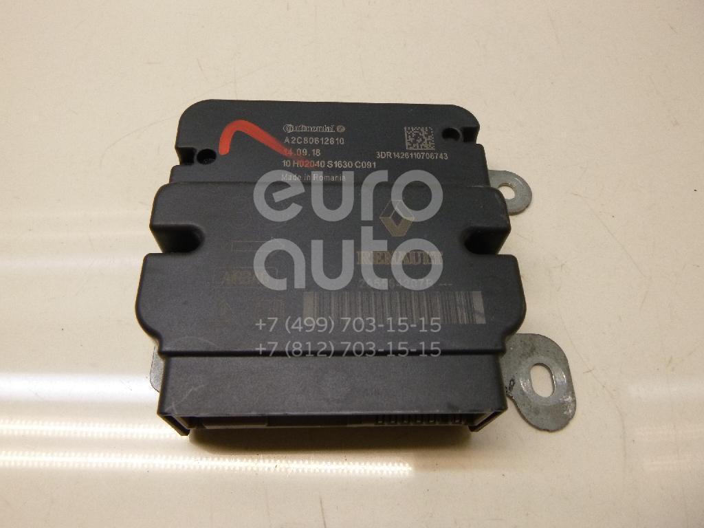 34f0083f9 Блок управления AIR BAG для Renault Logan II 2014> (Ориг. №285584207R,  Артикул: 5774415) - Б/У