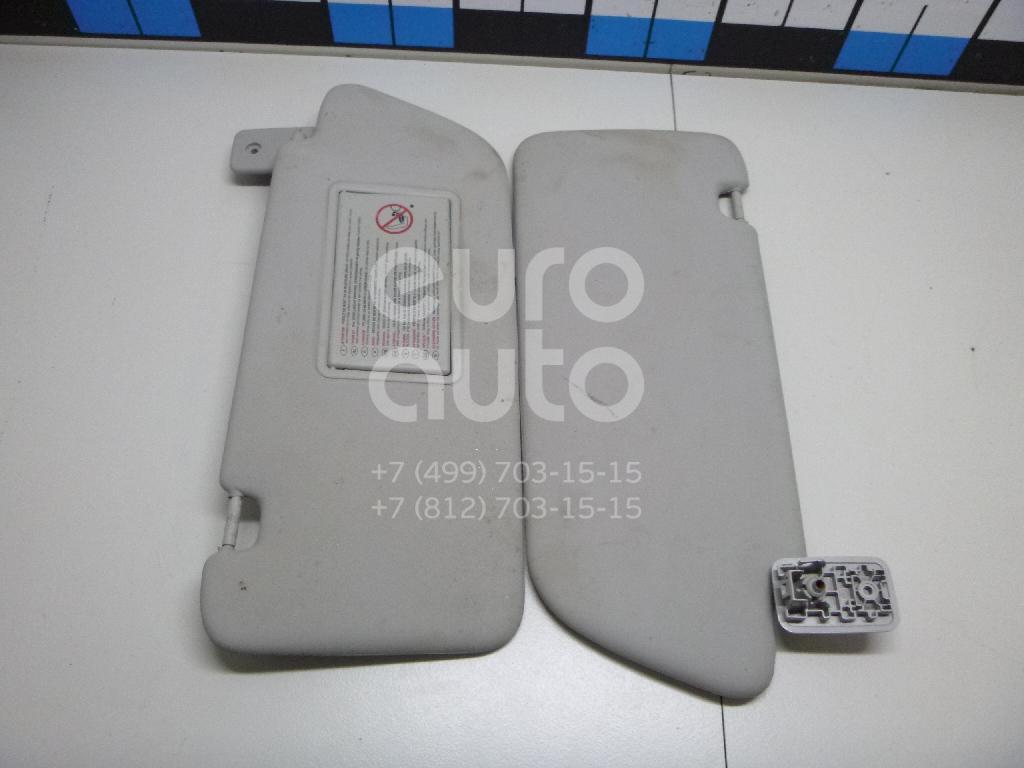 Козырек солнцезащитный (внутри) к-кт Peugeot 3008 2010-2016; (8163KZ)