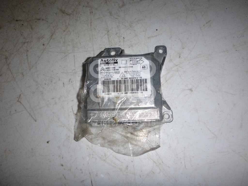 Купить Блок управления AIR BAG Citroen C3 Picasso 2008-; (6546N8)