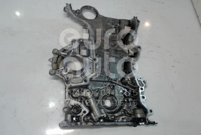 Крышка двигателя передняя Toyota RAV 4 2013-; (113020R030)  - купить со скидкой