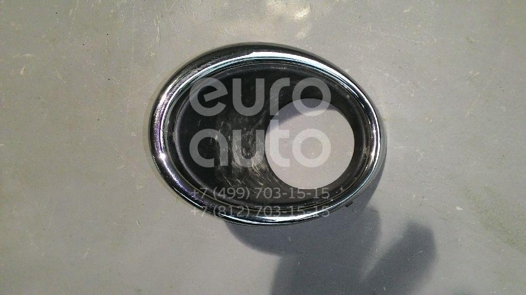Купить Рамка противотуманной фары левой Nissan Qashqai (J11) 2014-; (622574EA0C)
