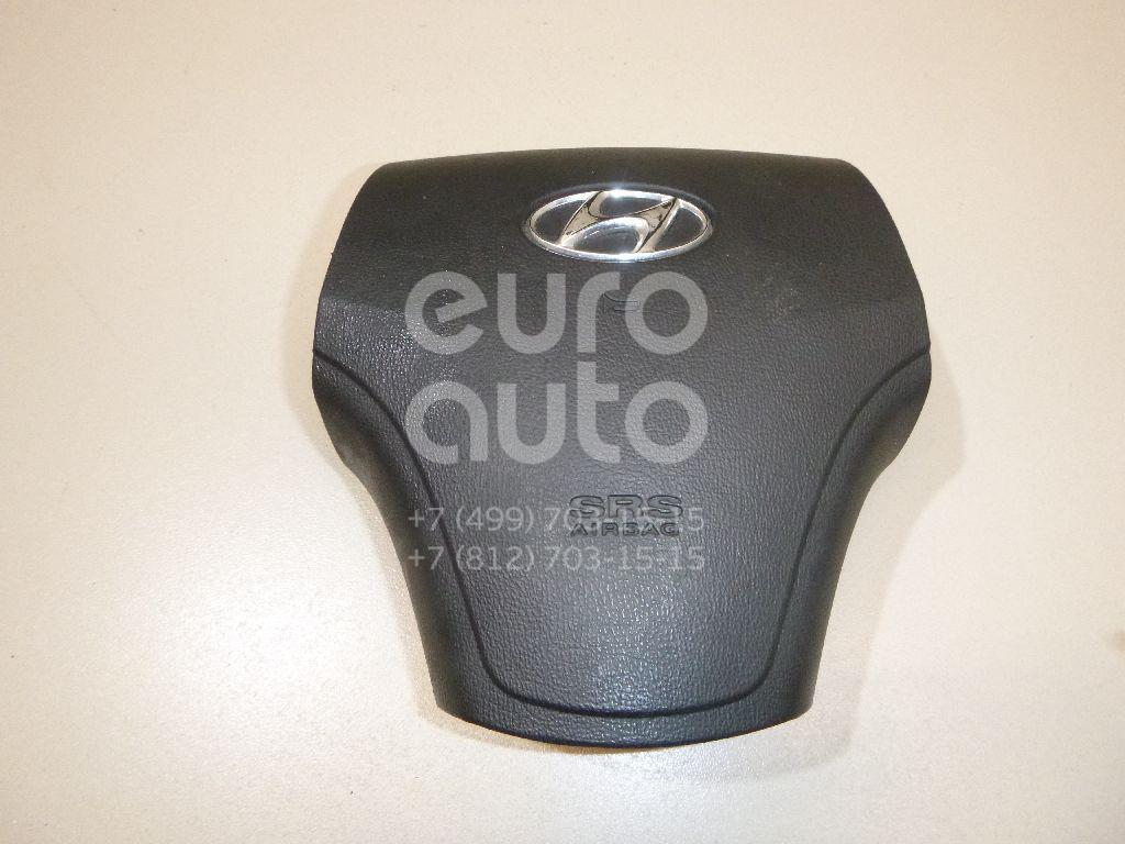 Подушка безопасности в рулевое колесо Hyundai Elantra 2006-2011; (569002H1007U)