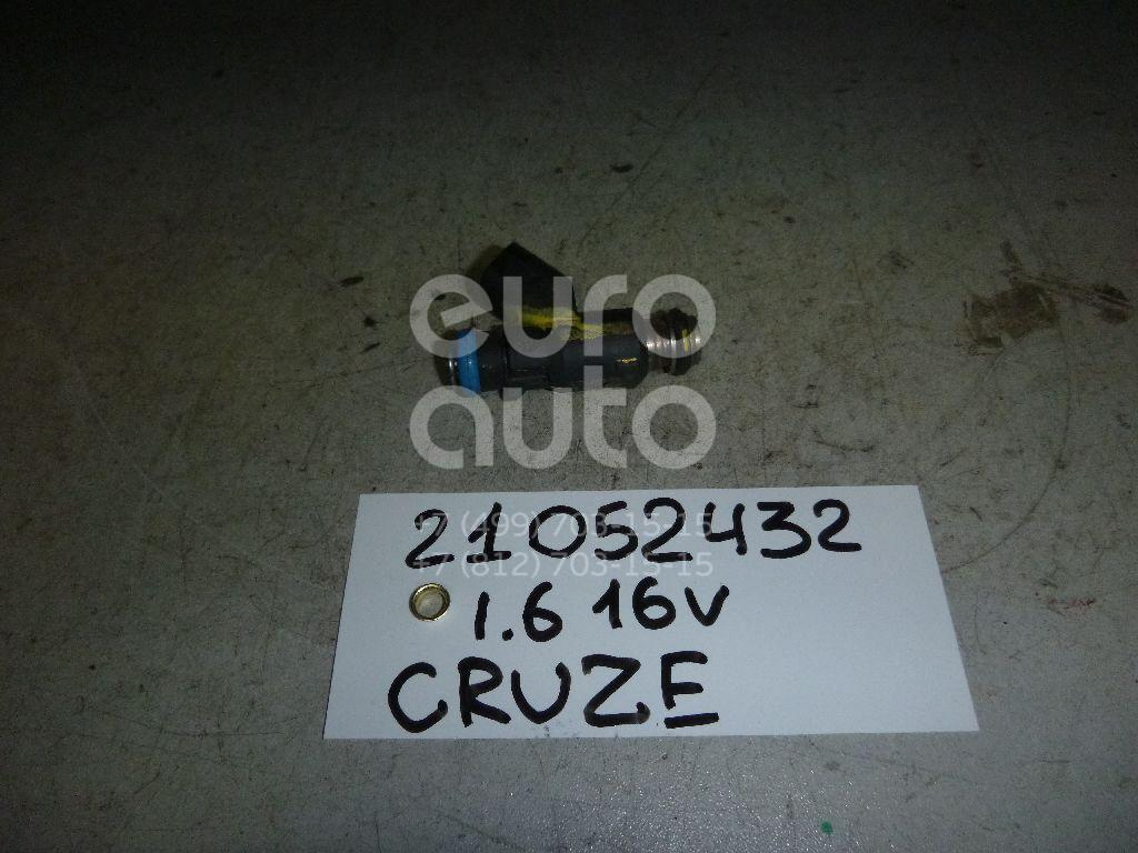 Купить Форсунка инжекторная электрическая Chevrolet Cruze 2009-2016; (96487553)