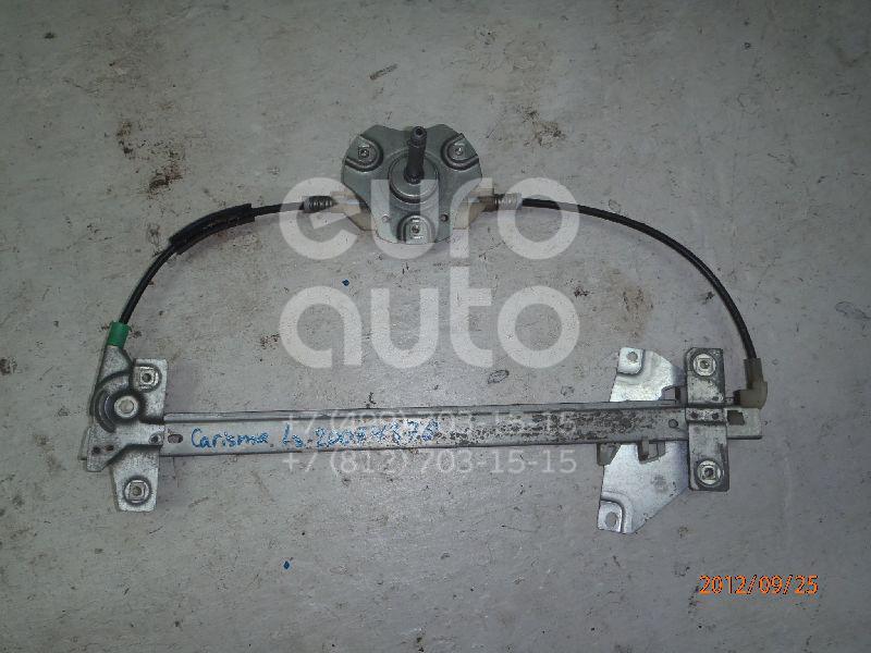 Купить Стеклоподъемник механ. задний левый Mitsubishi Carisma (DA) 1995-1999; (MR100763)