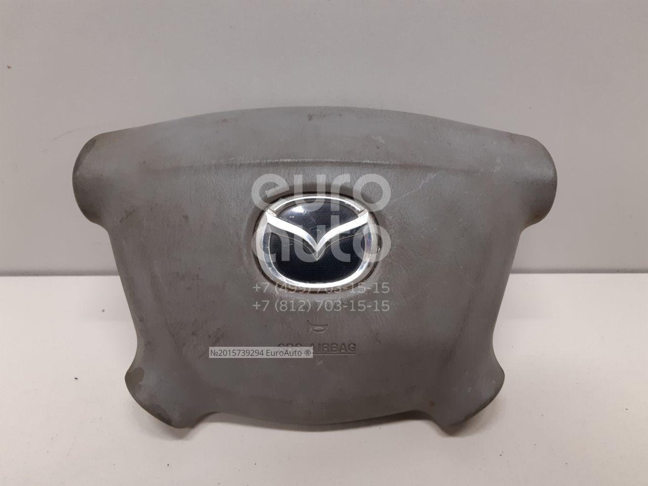 Купить Подушка безопасности в рулевое колесо Mazda MPV II (LW) 1999-2006; (LC6457K00A)