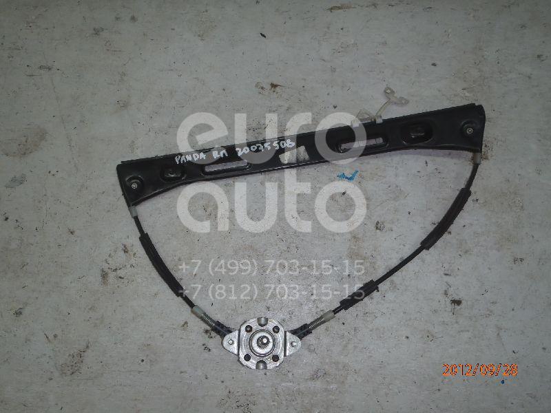 Стеклоподъемник механ. передний правый Fiat Panda 2003-2012; (46803649)