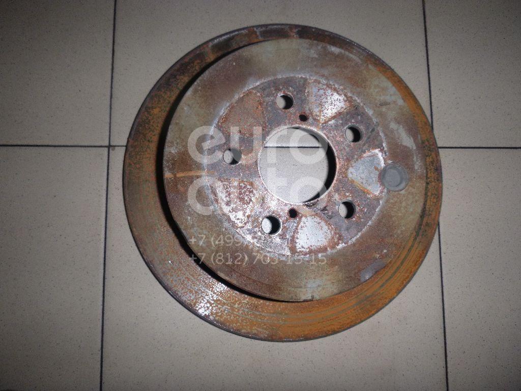 Диск тормозной задний Subaru Impreza (G12) 2007-2012; (26700FG000)  - купить со скидкой