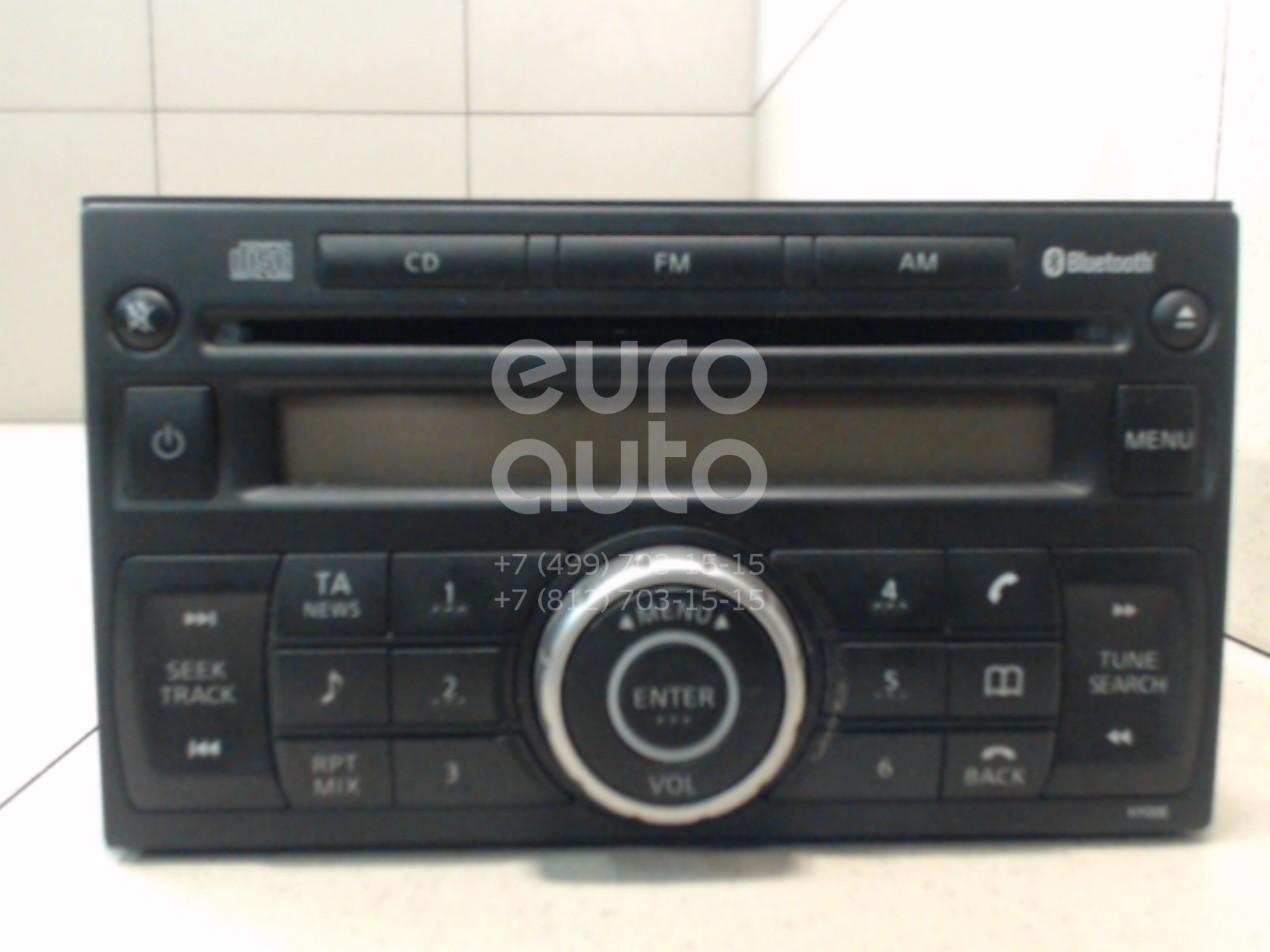 Купить Магнитола Nissan Qashqai (J10) 2006-2014; (28185JD00A)