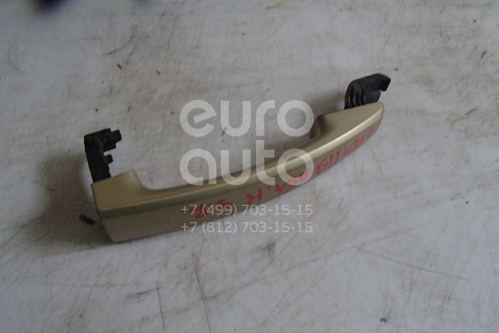 Ручка двери наружная Opel Astra H / Family 2004-2015; (13142770)  - купить со скидкой
