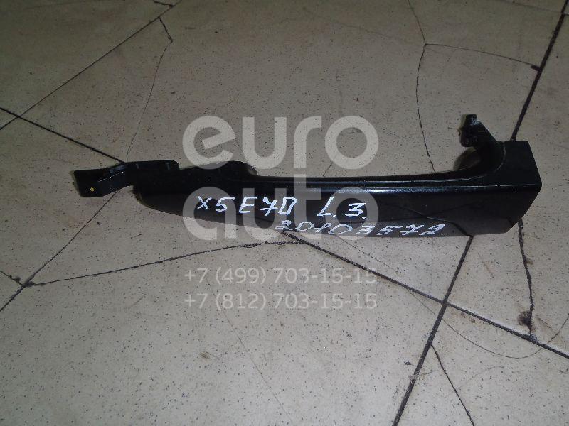 Купить Ручка двери наружная левая BMW X5 E70 2007-2013; (51217207539)
