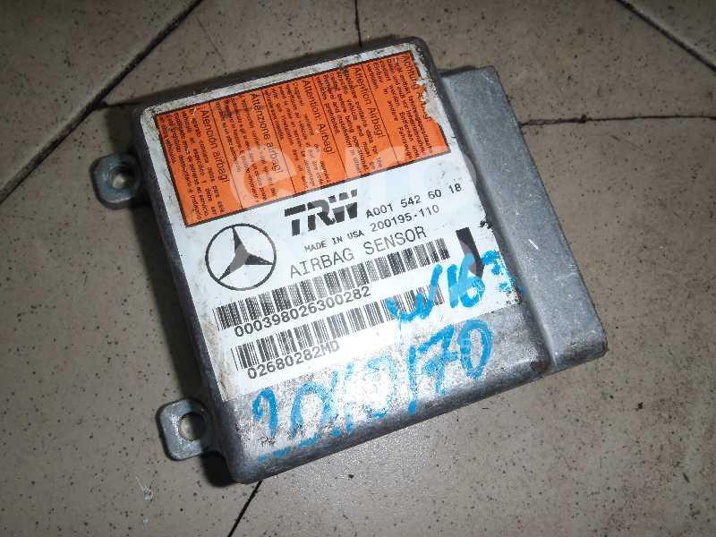 Купить Блок управления AIR BAG Mercedes Benz W163 M-Klasse (ML) 1998-2004; (0015426018)
