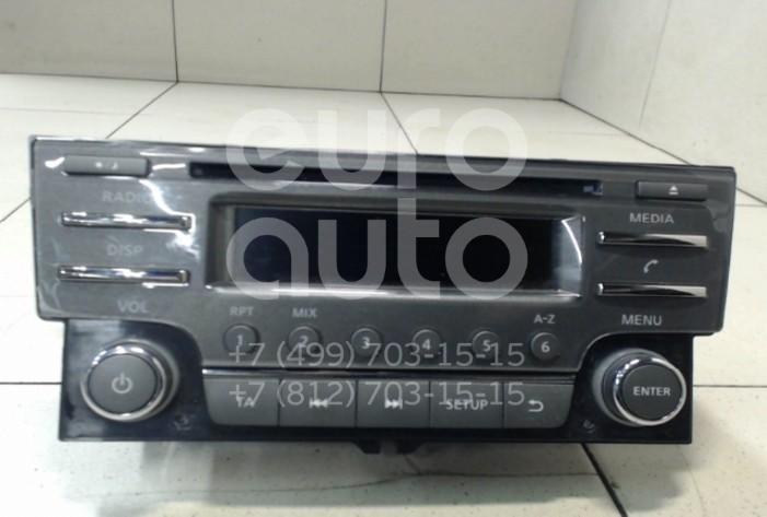 Купить Магнитола Nissan Sentra (B17) 2014-; (281854MA0A)