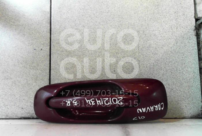 Купить Ручка двери задней наружная правая Chrysler Voyager/Caravan (RG/RS) 2000-2008; (RP90XRVAA)