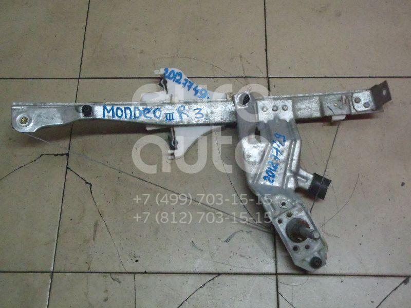 Купить Стеклоподъемник механ. задний правый Ford Mondeo III 2000-2007; (1320872)