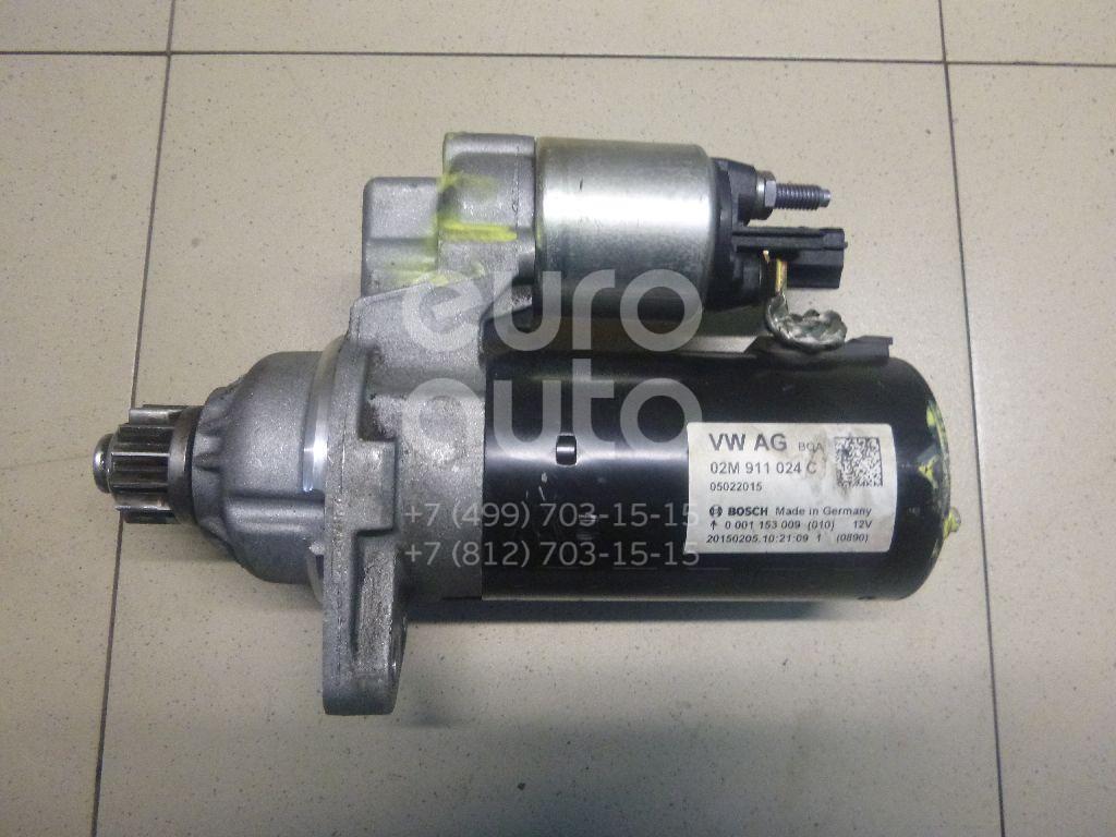 Купить Стартер VW Tiguan 2011-2016; (02M911024C)